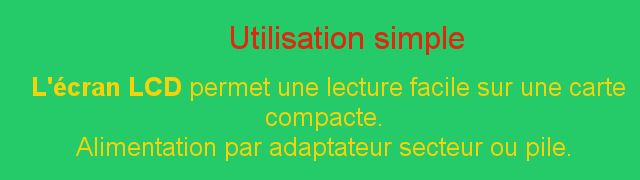 Utilisation simple