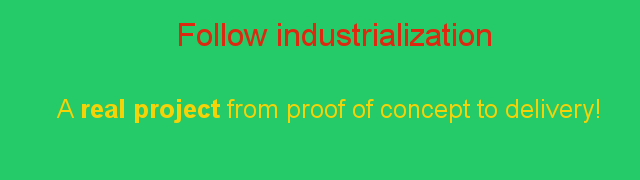 Follow industrialization