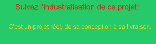 Suivez l'industrialisation