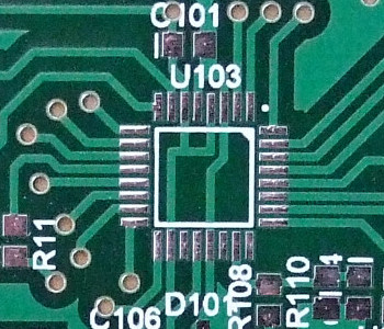 Detail of a PCB conceived by Pandauino?