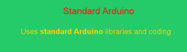 Standard Arduino