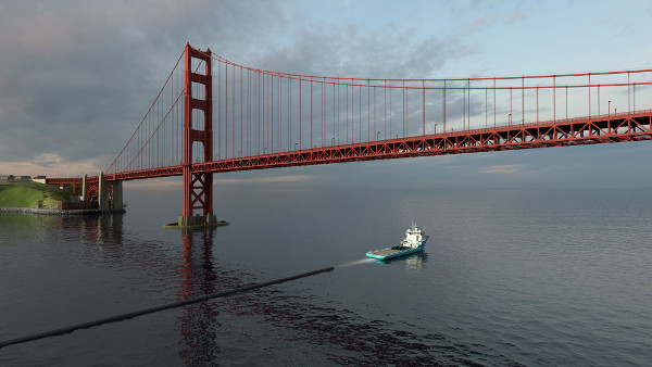 Towing the Ocean Cleanup apparel