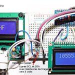 Utiliser I2C pour envoyer des mesures de fréquence. Facile!