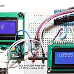 Using I2C to feed frequency measurements. Easy!