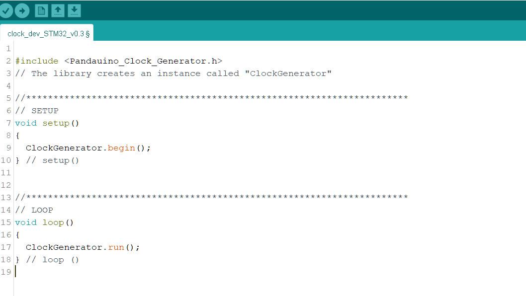 Clock Generator - Easy Programming