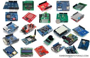 Some Arduino shields